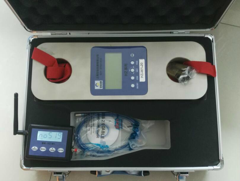 10吨无线带卸扣测力计-带USB,无线传输90m